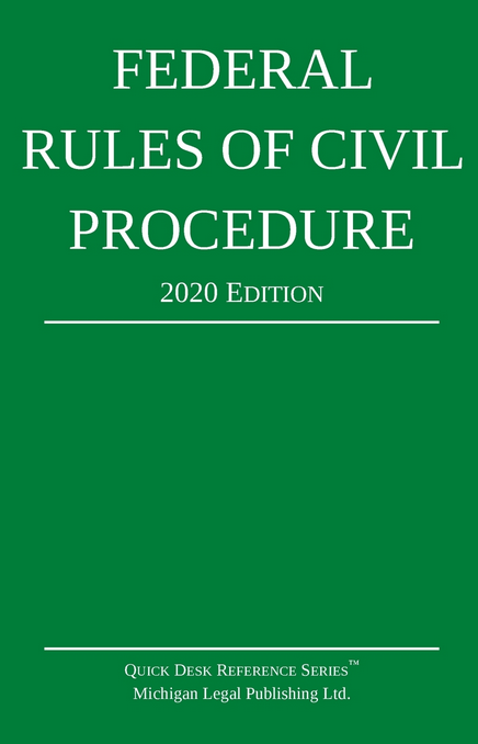 2020 Federal Rules of Civil Procedure